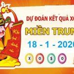 Dự đoán XSMT ngày 18/1/2020 – Dự đoán xổ số miền Trung thứ 7