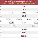 Dự đoán XSDNA 5/8/2020 chốt KQXS Đồng Nai thứ 4