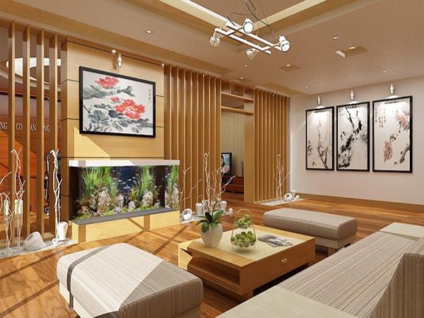 Phòng khách tuổi Đinh Tỵ