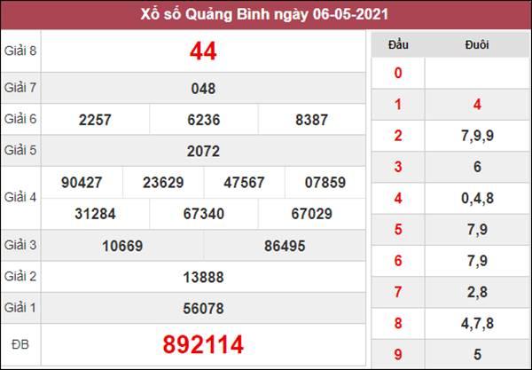 Dự đoán XSQB 13/5/2021 chốt KQXS Quảng Bình thứ 5